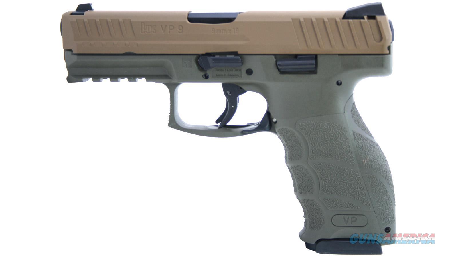 """Heckler & Koch Vp9 9Mm 4.1"""" 10Rd Semi 81000136-310-HKB  Guns > Pistols > H Misc Pistols"""