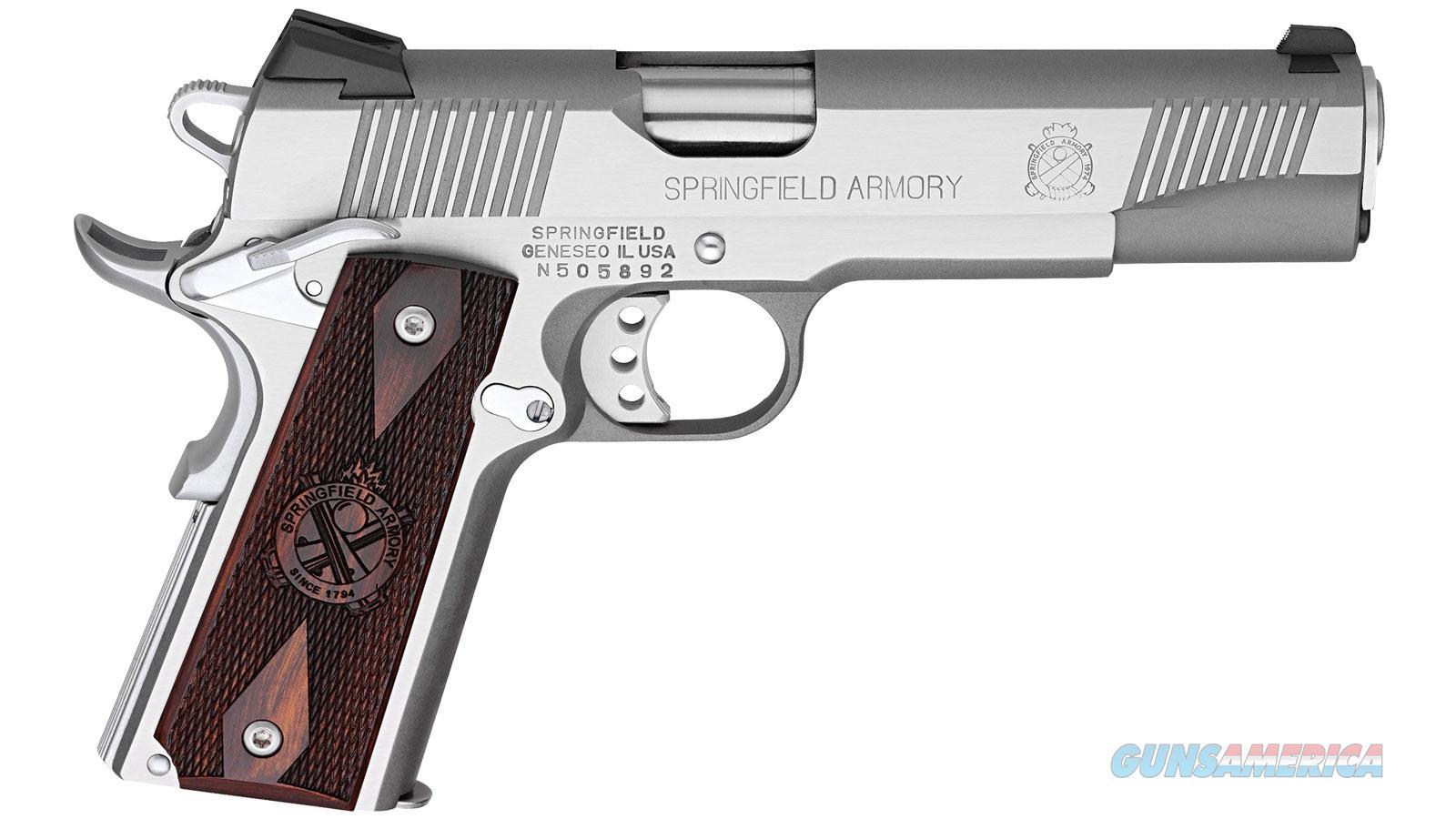 Springfield Armory 1911-A1 45Acp 5 Ss Novak 8Rd Loaded Ca Lega PX9151LCA  Guns > Pistols > S Misc Pistols