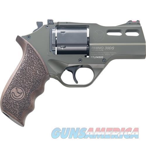 "Chiappa Firearms Rhino 30Ds .357Mag 3"" Adj. Sight Odg/Walnut 340.285  Guns > Pistols > C Misc Pistols"