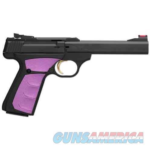 "Browning Buck Mark Plus Fuschia 22Lr 5.5"" As 10Sh Blk/Fuschia Syn< 051505490  Guns > Pistols > B Misc Pistols"