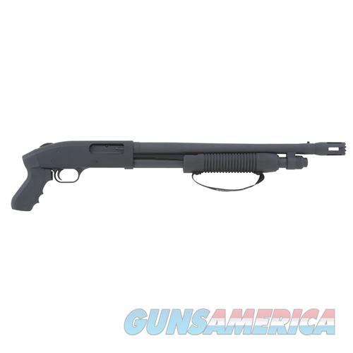 "Mossberg 54125 500 Cruiser With Breacher Pump 12 Gauge 18.5"" 3"" 5+1 Synthetic Pistol Grip Black Blued 54125  Guns > Shotguns > MN Misc Shotguns"