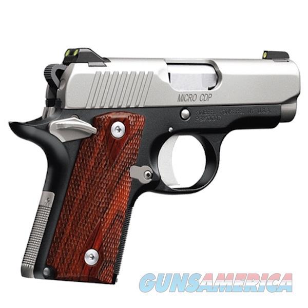Kimber 9Mm Micro 9 Cdp KIM3300097  Guns > Pistols > K Misc Pistols