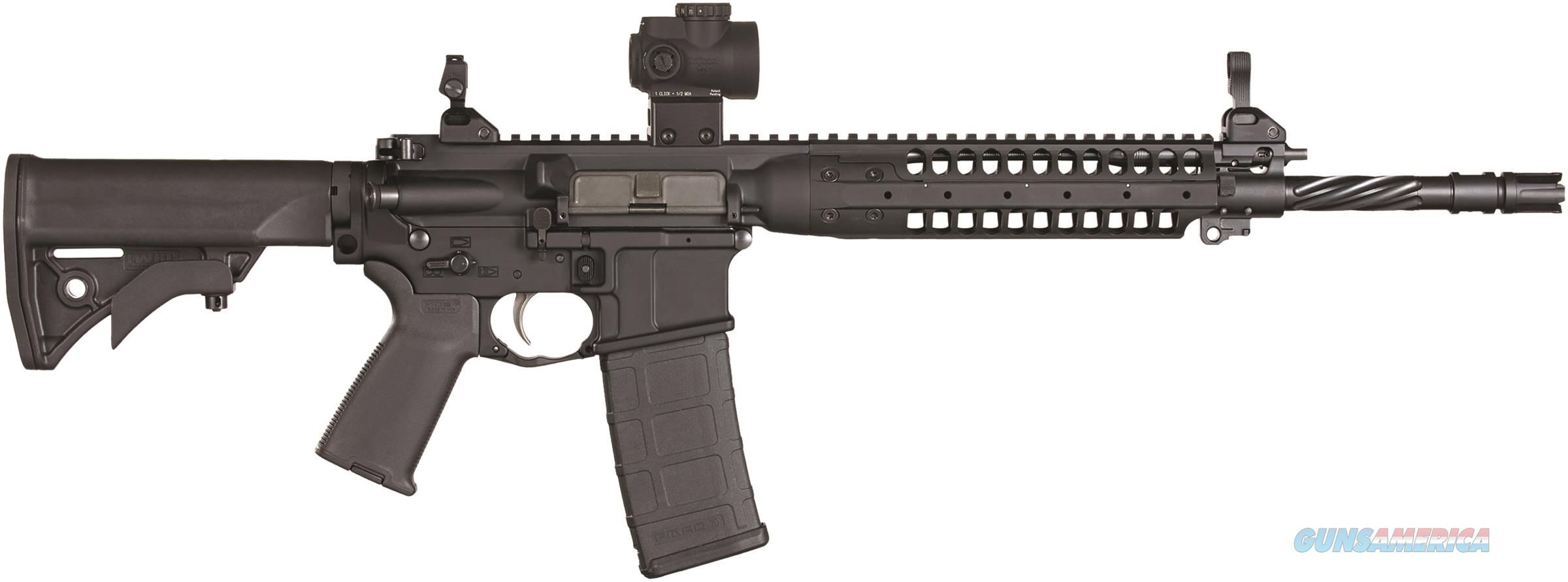 Lwrc Ic Enhan 5.56Mm 16 Blk Trij Mro Flip Sights ICE5R5B16MRO  Guns > Rifles > L Misc Rifles