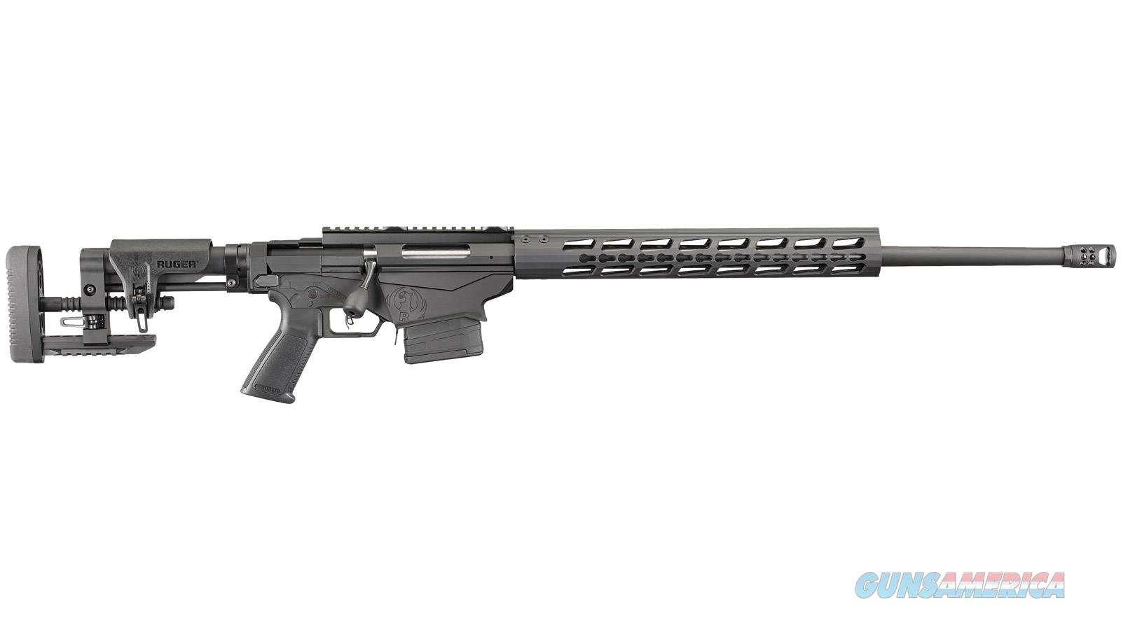 "Ruger Precision Bolt Action Rifle, 5.56/223 Rem, 20"" Bbl, Folding Adj. Lop & Comb Height, 2 10-Round Mags 18019  Guns > Rifles > R Misc Rifles"