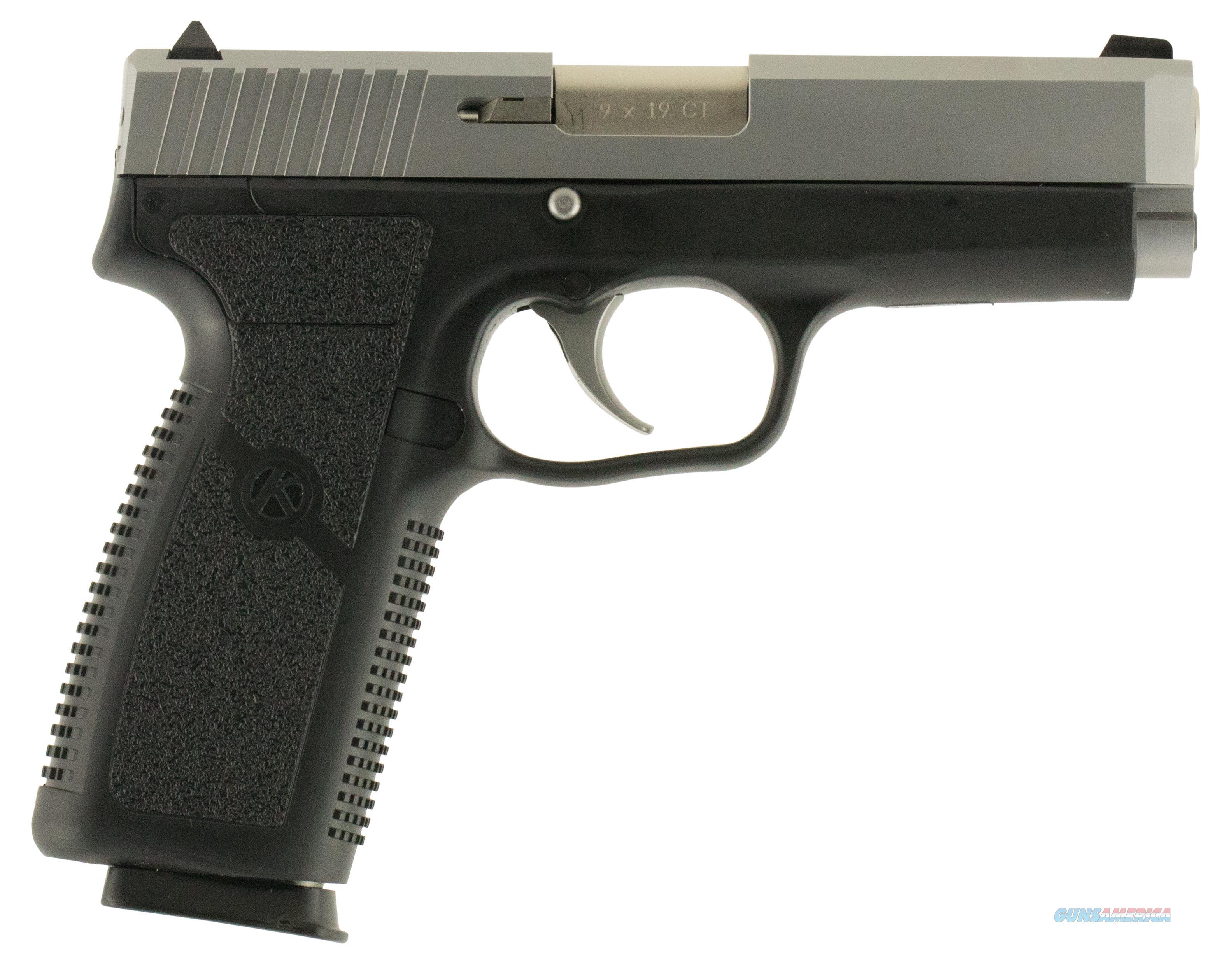 """Kahr Arms Ct9093n Ct9 Double 9Mm 3.9"""" 8+1 Black Polymer Grip/Frame Stainless CT9093N  Guns > Pistols > K Misc Pistols"""