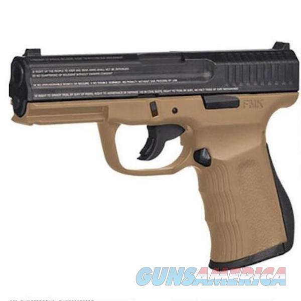 "Fmk Firearms 9Mm 4.5"" Tb Fat 14Rd De Engrv FMKG9C1G2ETDE  Guns > Pistols > F Misc Pistols"