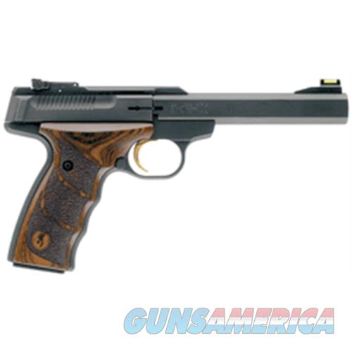 "Browning Buck Mark Plus Walnut Udx .22Lr 5.5"" As 10Sh Blk Walnut! 051428490  Guns > Pistols > B Misc Pistols"