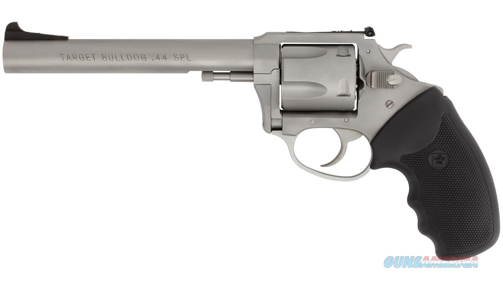 Charter Arms Target Bulldog 44Spl 6 Ss As 5Rd 74460  Guns > Pistols > C Misc Pistols