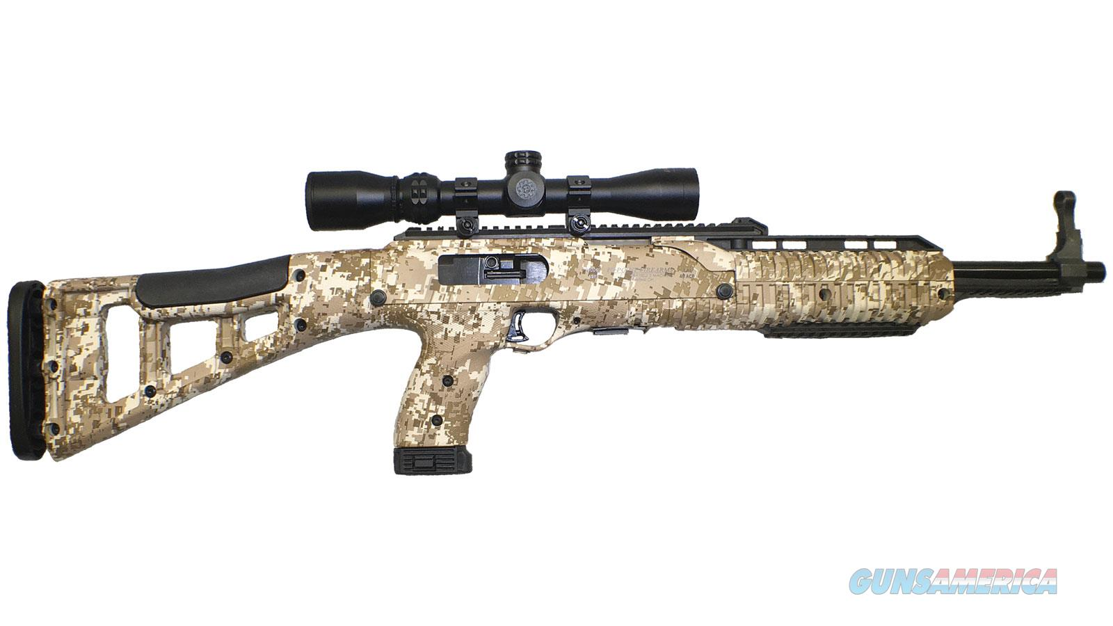 Hipoint Carbine 9Mm Luger Desert Digital Camo W/1.5-5X32 995DD HUNTER  Guns > Rifles > H Misc Rifles