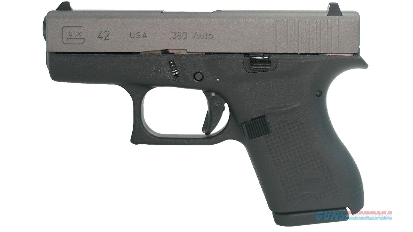 "Glock G42 380Acp 3.3"" 6Rd UI4250204  Guns > Pistols > G Misc Pistols"