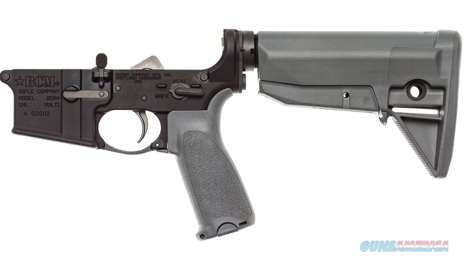 Bravo Company Usa Bcm4 5.56 Lower Rec 30Rd LRG-STK-MOD-0-WG  Guns > Rifles > B Misc Rifles