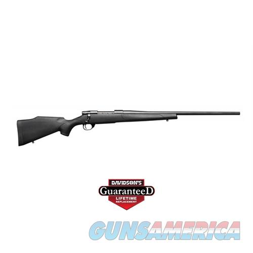 "Weatherby Vse308nr4o Vanguard Select Bolt 308 Winchester 24"" 5+1 Synthetic Black Stk Blued VSE308NR4O  Guns > Rifles > W Misc Rifles"