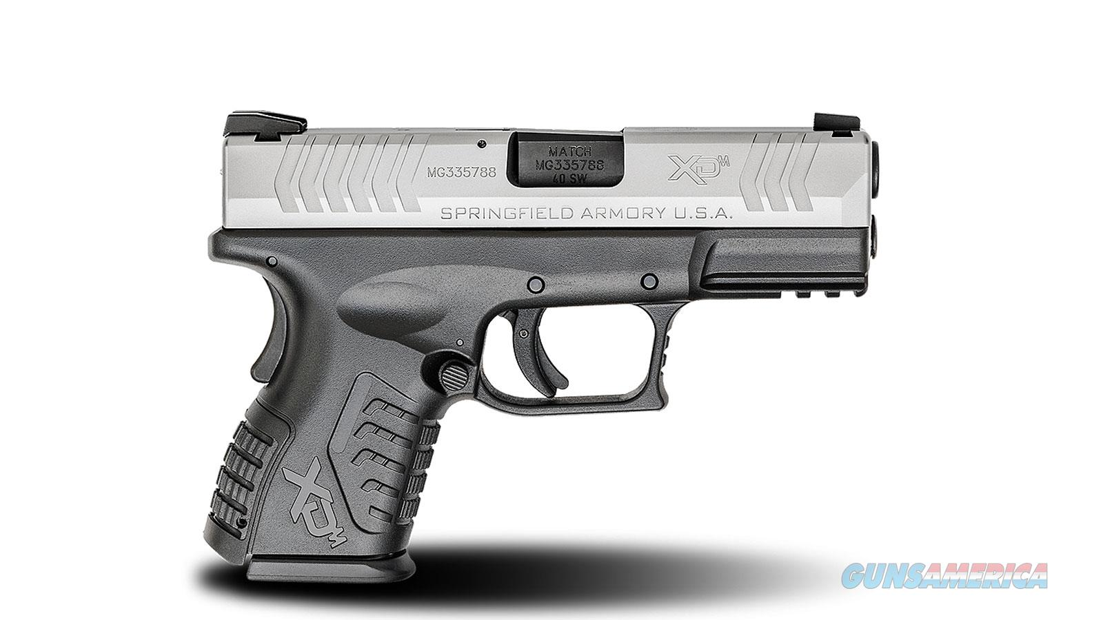 "Springfield Armory Xdm Compact 40Sw 3.8"" 16Rd XDM9384CSHCE  Guns > Pistols > S Misc Pistols"