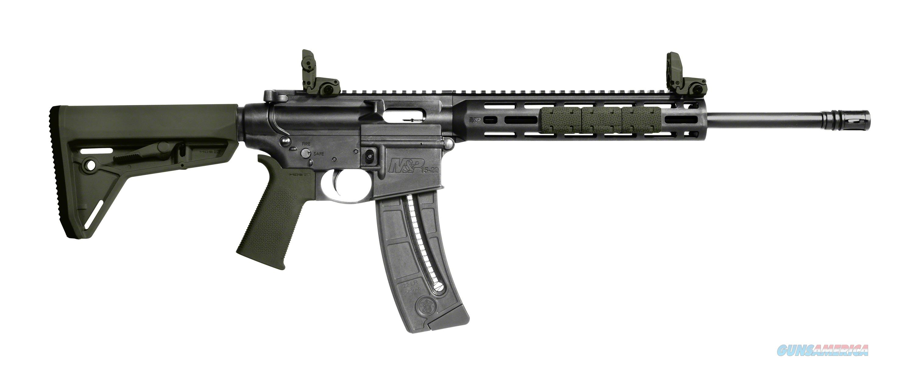 "Smith & Wesson M&P 15-22 Sport 16.5"" 22Lr Moe Sl - Od Green 25 Round Mag 11913  Guns > Rifles > S Misc Rifles"