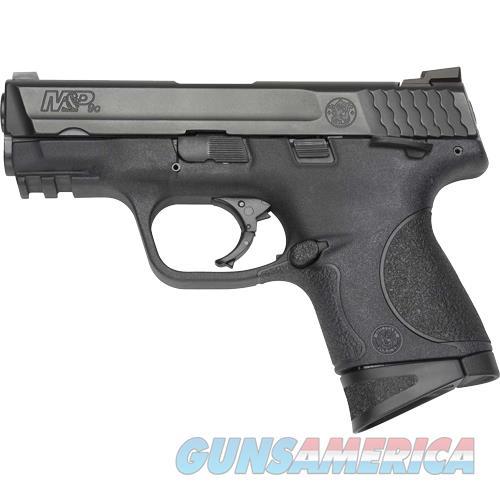 "Smith & Wesson M&P9c Compact 9Mm 3.5"" Fs 12-Sh W/Safety Blk Ss/Blk Pol 206304  Guns > Pistols > S Misc Pistols"