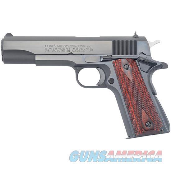 Colt Govt 45Acp Series 70 Blue O1970A1CS  Guns > Pistols > C Misc Pistols