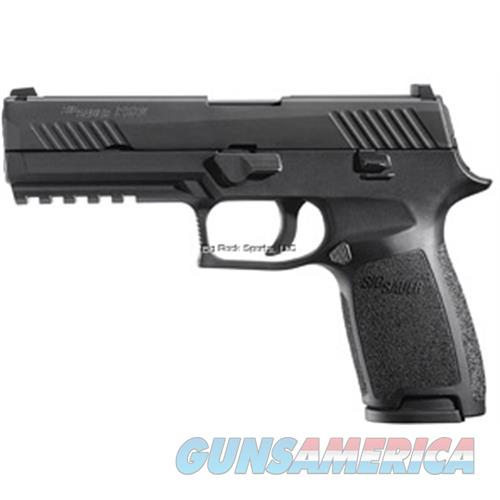 Sig Sauer P320f, Semi-Auto Pistol, 9Mm, Nitron, Contrast, Dao, Med Grip,  (2) 10+1 Rnd Mags 320F-9-B-10  Guns > Pistols > S Misc Pistols