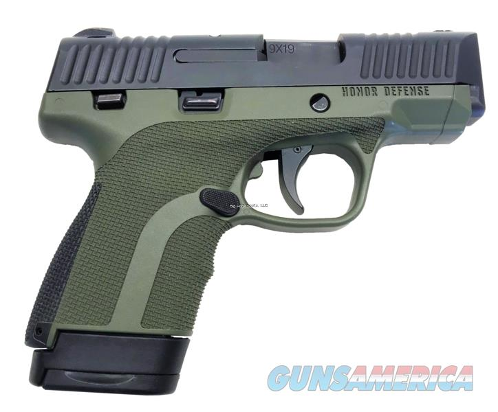 "Honor Defense Hg9scms-Od 9Mm 3.2"" 7Rd HG9SCMS-OD  Guns > Pistols > H Misc Pistols"