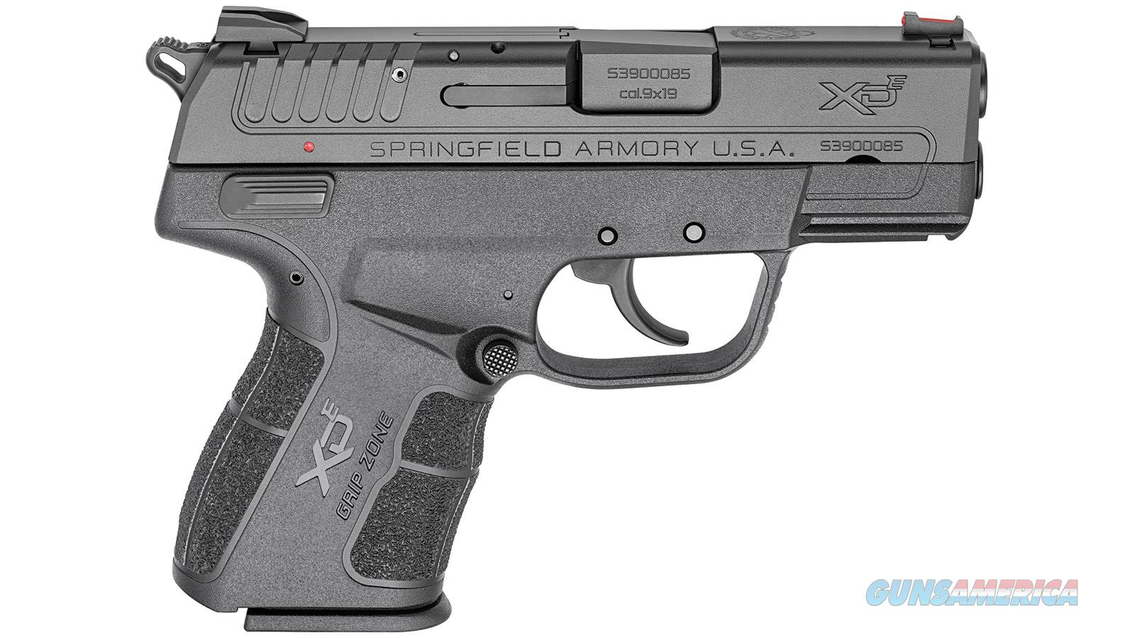 "Springfield Armory Xde 9Mm 3.3"" 8/9Rd XDE9339BE  Guns > Pistols > S Misc Pistols"