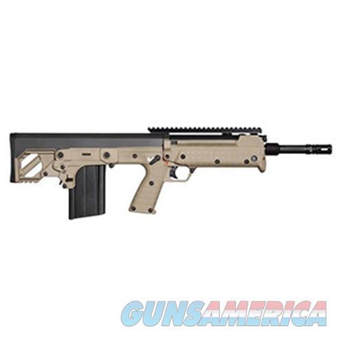 Keltec Rfb Semi-Auto Rifle 308 Win, Amb, 18 In, Blk, Syn Stock, 20-Rnd, Std Trigger RFB18TAN  Guns > Rifles > K Misc Rifles