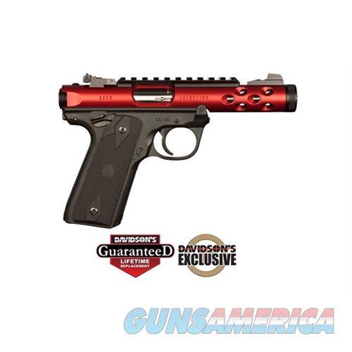 Ruger Mkiv 2245 Lt 22Pst 4.4 Red 43910  Guns > Pistols > R Misc Pistols