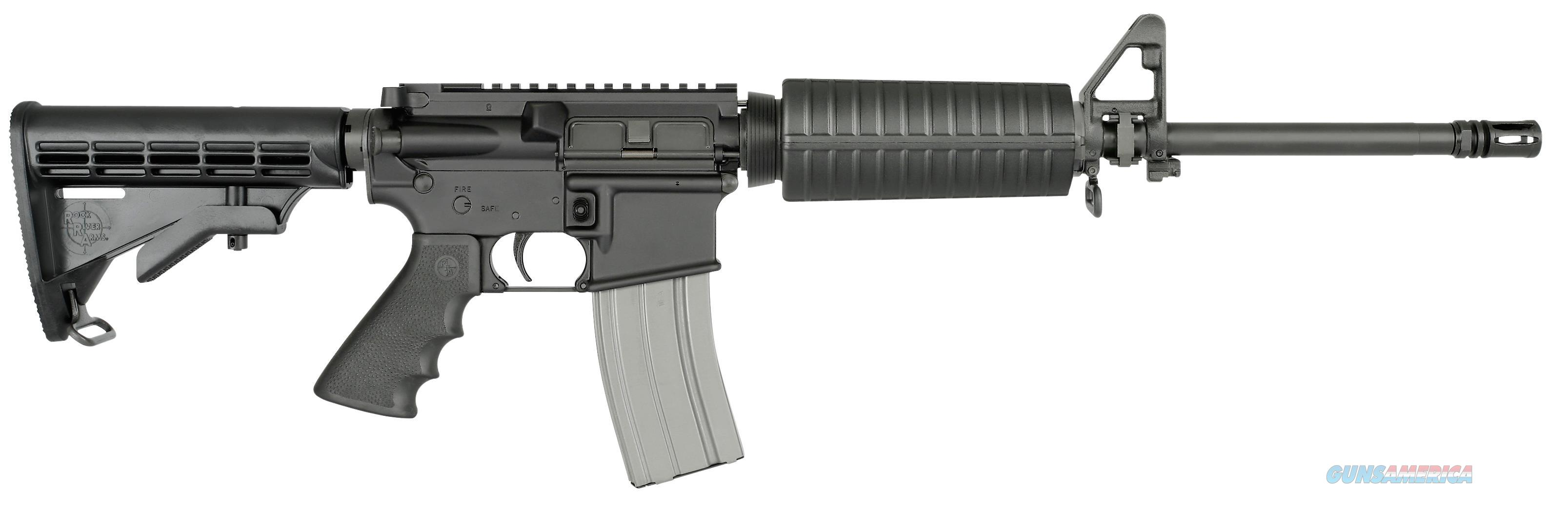 "Rock River Arms Ar1207 Lar-15 Tactical Car W Ergo Grip Chrome Lined Barrel Semi-Automatic 223 Remington/5.56 Nato 16"" 30+1 6-Position Black Stk Black AR1207  Guns > Rifles > Rock River Arms Rifles"