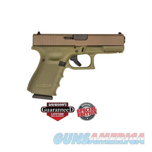 Glock 19 G4usa 9Mm Pst Ckbgfd 15 UG1950204CKBGFD  Guns > Pistols > G Misc Pistols