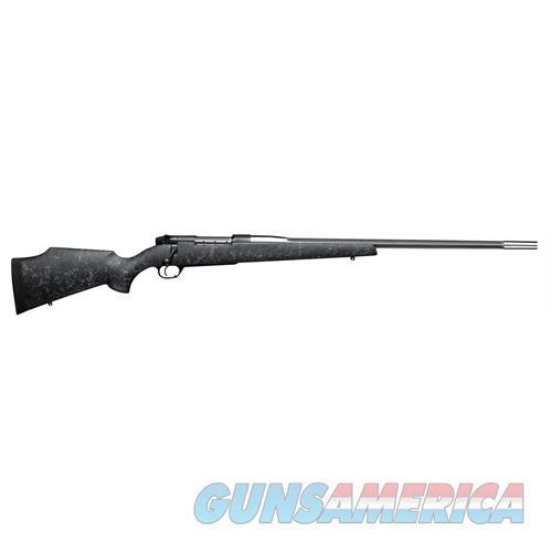 Weatherby Mkv Accumark 338Lap 28 Blk Gray Web Muzzle MAMM338LR8B  Guns > Rifles > W Misc Rifles