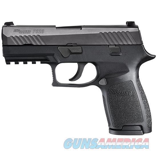 Sig Sauer P320 Compact 9Mm Blk Nitron Cont Sights 15Rd 320C-9-B  Guns > Pistols > S Misc Pistols