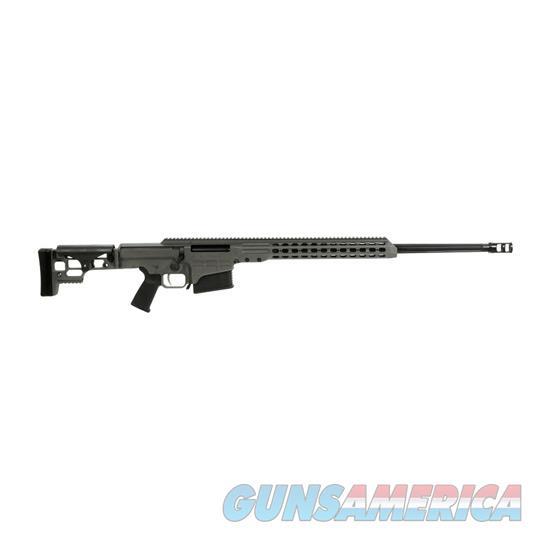 Barrett Mrad 338Lap 26 Flt Gry Cerakote Rcvr S/O 14388  Guns > Rifles > Barrett Rifles