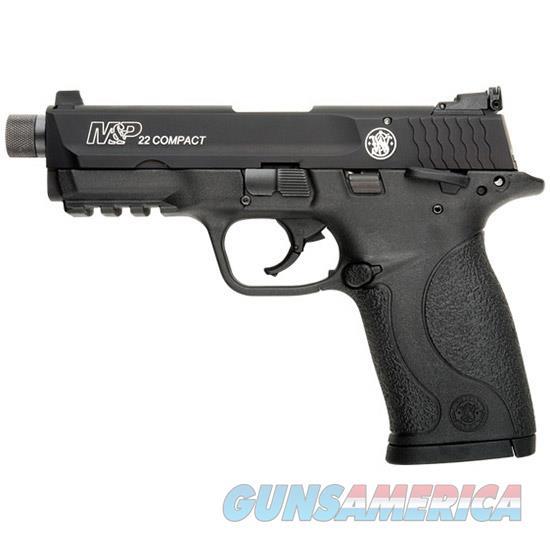 Smith & Wesson M&P 22 Semi Auto Pistol 22 Lr, 3.56 In, Poly Grp, 10+1 Rnd, Compact Blk Frame 10199  Guns > Pistols > S Misc Pistols