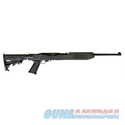 """Ruger 1219 10/22 Tapco Intrafuse Exclusive Semi-Automatic 22 Long Rifle (Lr) 16.6"""" 10+1 6-Position Tapco Black Stk Blued 1219  Guns > Rifles > R Misc Rifles"""