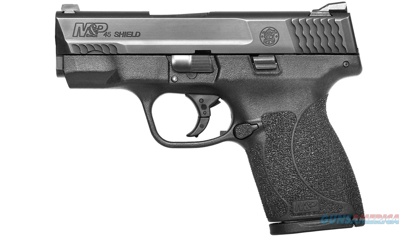 SMITH & WESSON M&P SHIELD 45ACP 3.3 NO THUMB SAFETY NS 3 MAG 11726  Guns > Pistols > S Misc Pistols