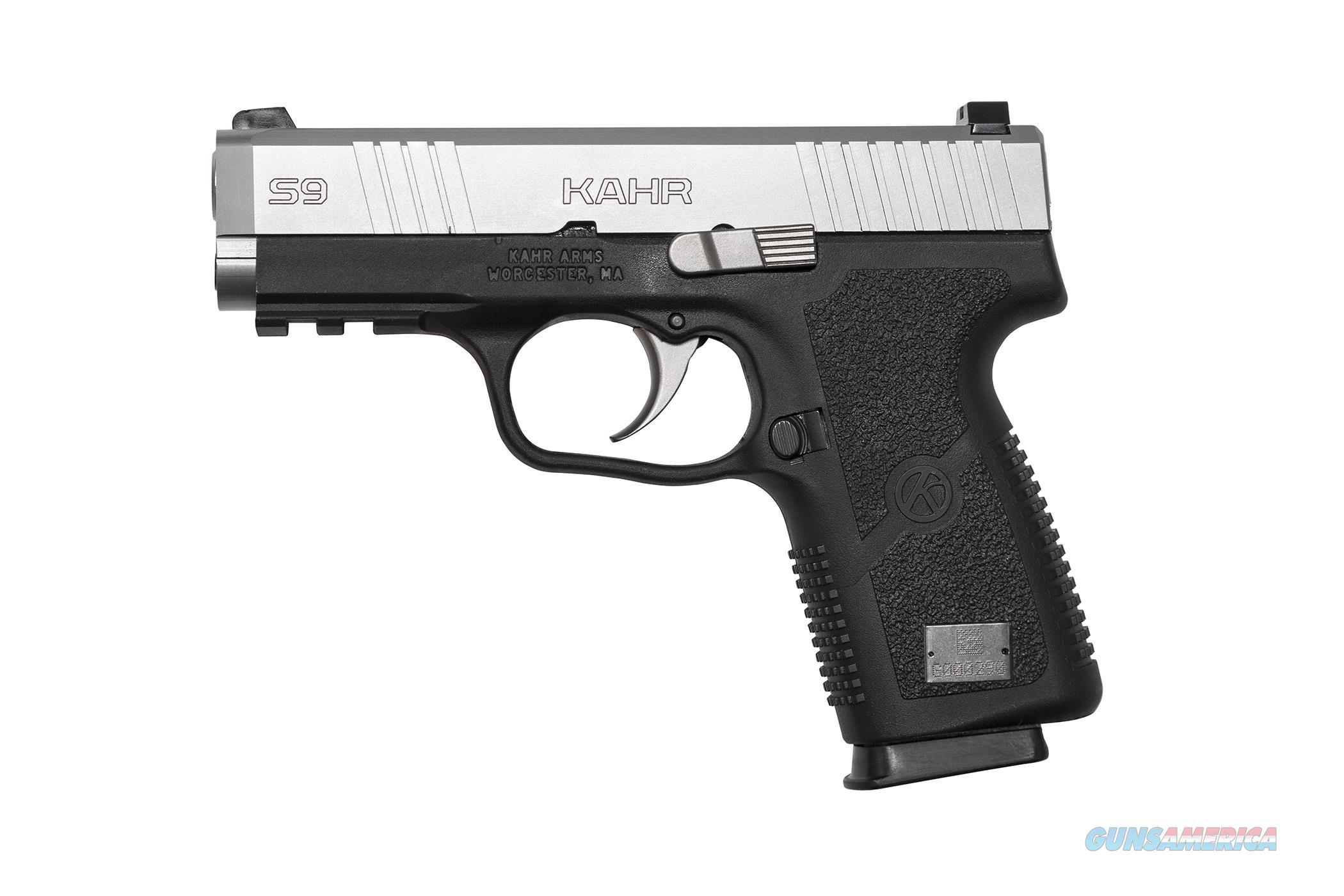 "S9 9Mm Ss/Blk 3.6"" 7+1 Rail S9093  Guns > Pistols > K Misc Pistols"