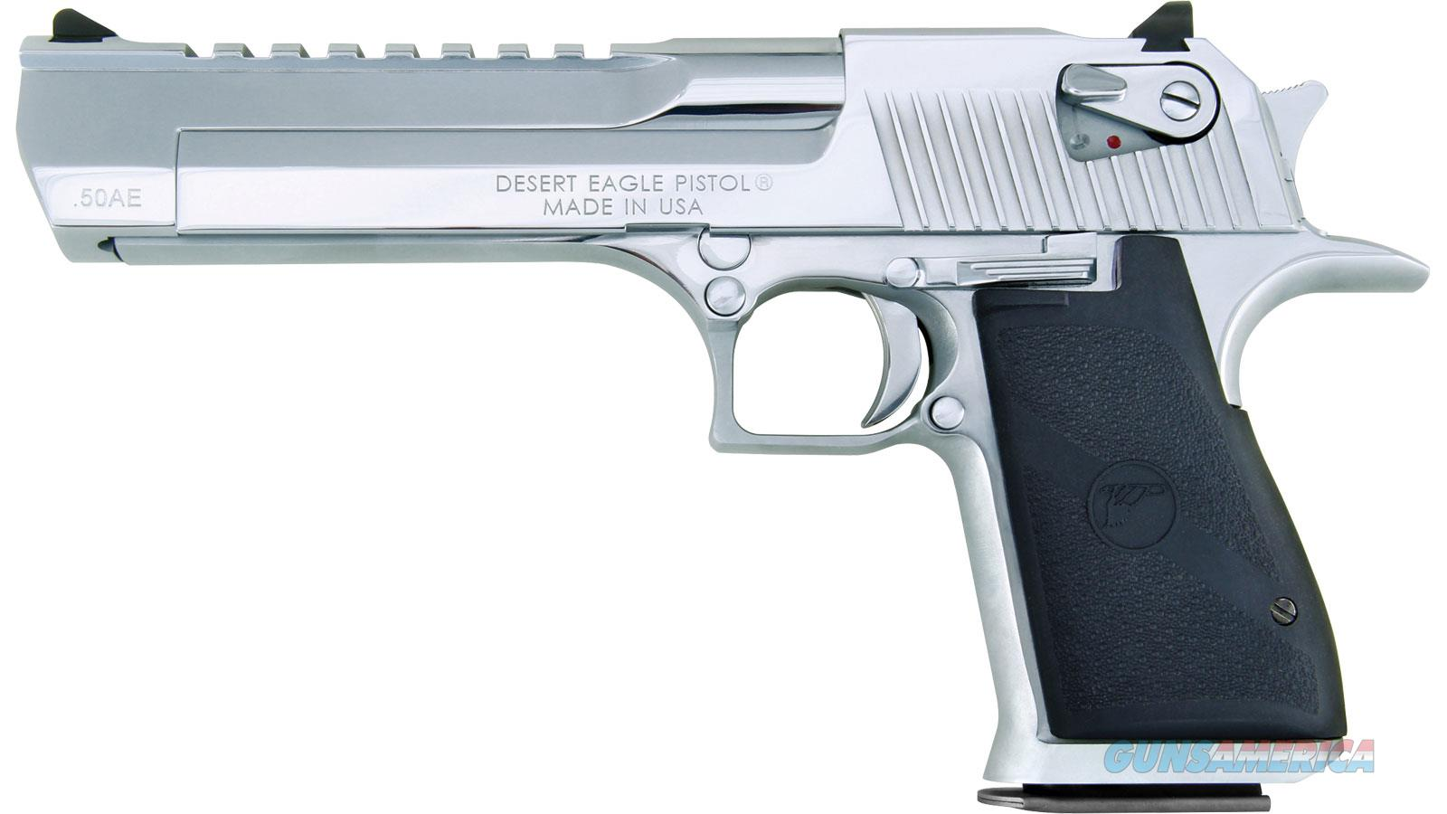 "MAGNUM RESEARCH DE 50 XIX 6"" POLISHED CHRM DE50PC  Guns > Pistols > Magnum Research Pistols"