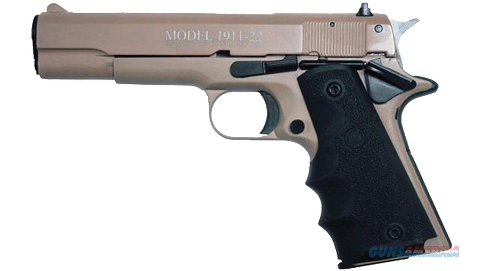 "Chiappa Firearmsmks 1911-22 22Lr Full Tan 5"" 401120  Guns > Pistols > C Misc Pistols"