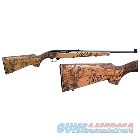 Ruger 10/22 Wildhog 22Lr Engraved Walnut 21168  Guns > Rifles > R Misc Rifles