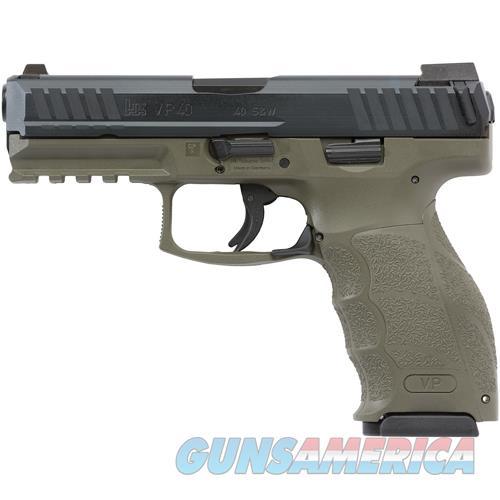 "Heckler & Koch Vp40 Striker Fired 40S&W 4.09"" Bbl 3-Dot Ns 3-10Rd Odg< 700040GRLEL-A5  Guns > Pistols > H Misc Pistols"