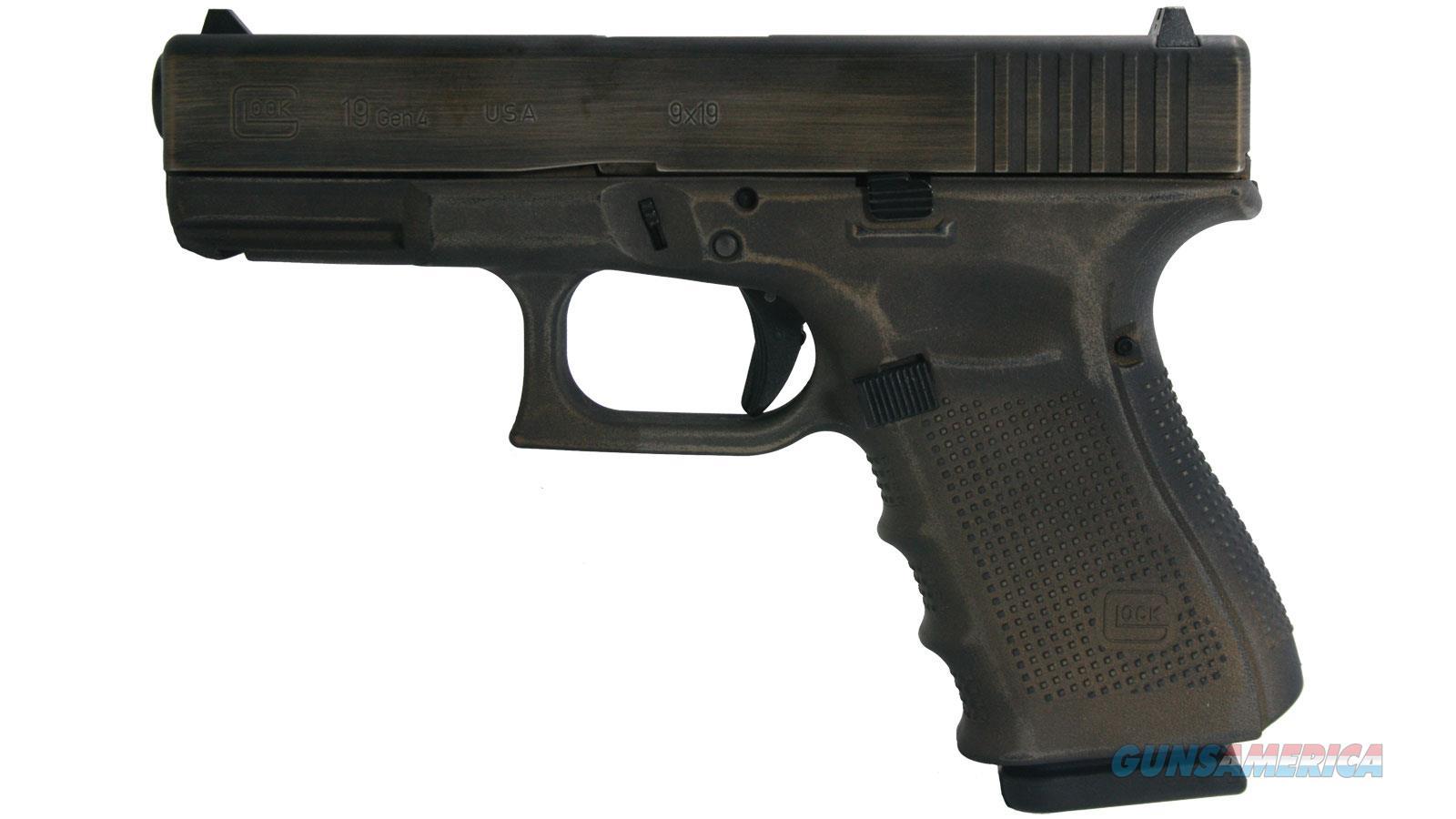 """Glock G19 Gen4 9Mm 4"""" 15Rd Semi UG1950204DCD  Non-Guns > Gun Parts > Misc > Rifles"""