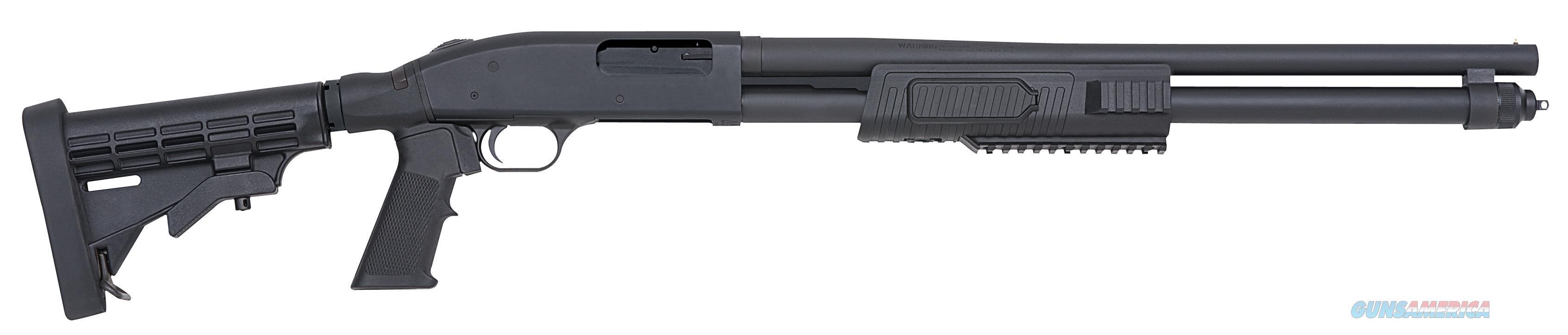"Mossberg Flex 590Tctl 12G 20"" 6Pos 51672  Guns > Shotguns > MN Misc Shotguns"