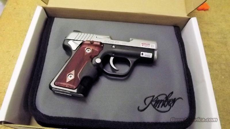 KIMBER SOLO CDP W/LASERGRIP, 9MM, ROSEWOOD GRIPS  Guns > Pistols > Kimber of America Pistols