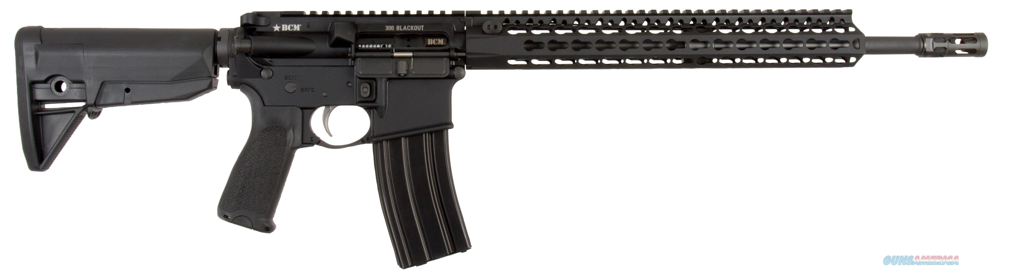 "Bravo 653-790 Bcm Recce-16 Semi-Automatic 300 Aac Blackout/Whisper (7.62X35mm) 16"" 6-Position Stk Blk 653-790  Guns > Rifles > B Misc Rifles"