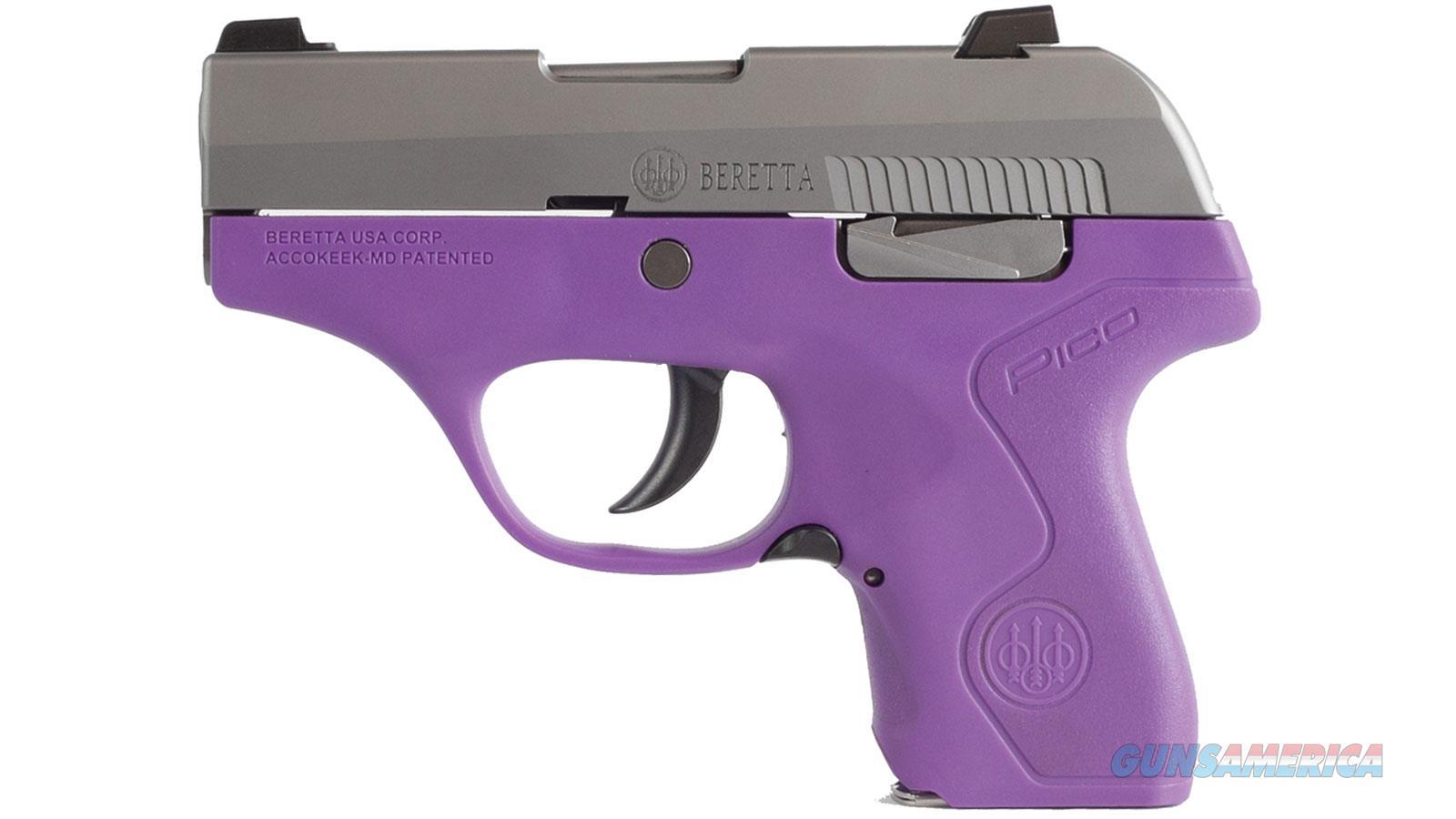 "Beretta Pico Inox 380Acp 2.7"" 6Rd JMP8D95  Guns > Pistols > B Misc Pistols"