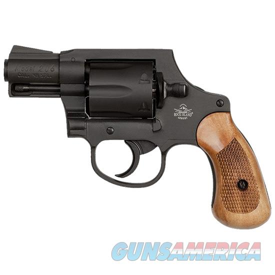 "Armscor/Rock Island M206 Revolver Dao .38Spl 2"" Fs 6Rd Parkerized 51280  Guns > Pistols > A Misc Pistols"