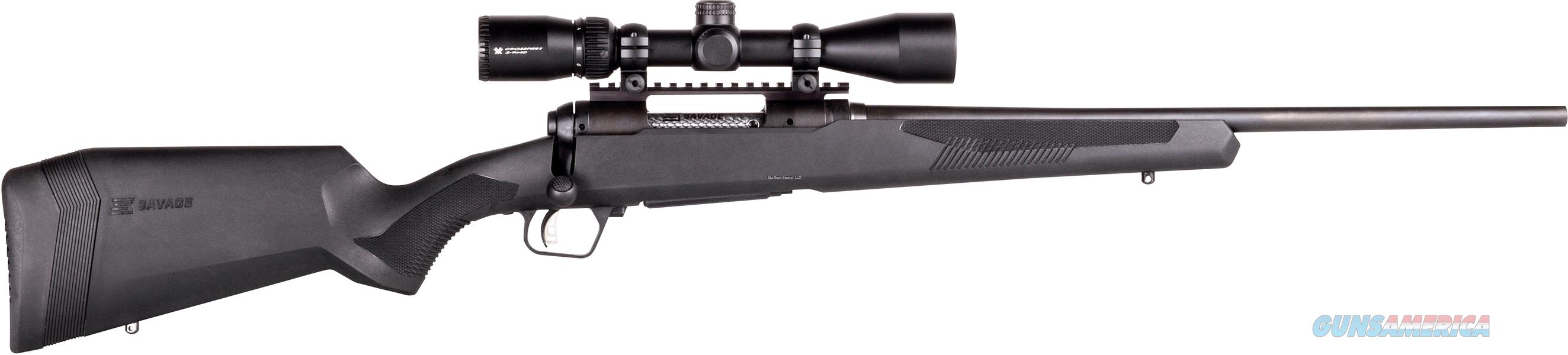 "Savage Arms 110 Apex Hunter Xp, Bolt Action Rifle, .243 Win, 22"" Bbl, Blk Syn Stock, Adjust Lop, Accu-Trig, Vortex 3-9X40 Scope 57303  Guns > Rifles > S Misc Rifles"