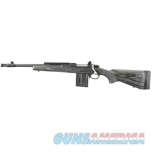 "Ruger 6827 Gunsite Scout Lh Bolt 223 Remington/5.56 Nato 16.1"" 10+1 Laminate Black Stk Black 6827  Guns > Rifles > R Misc Rifles"