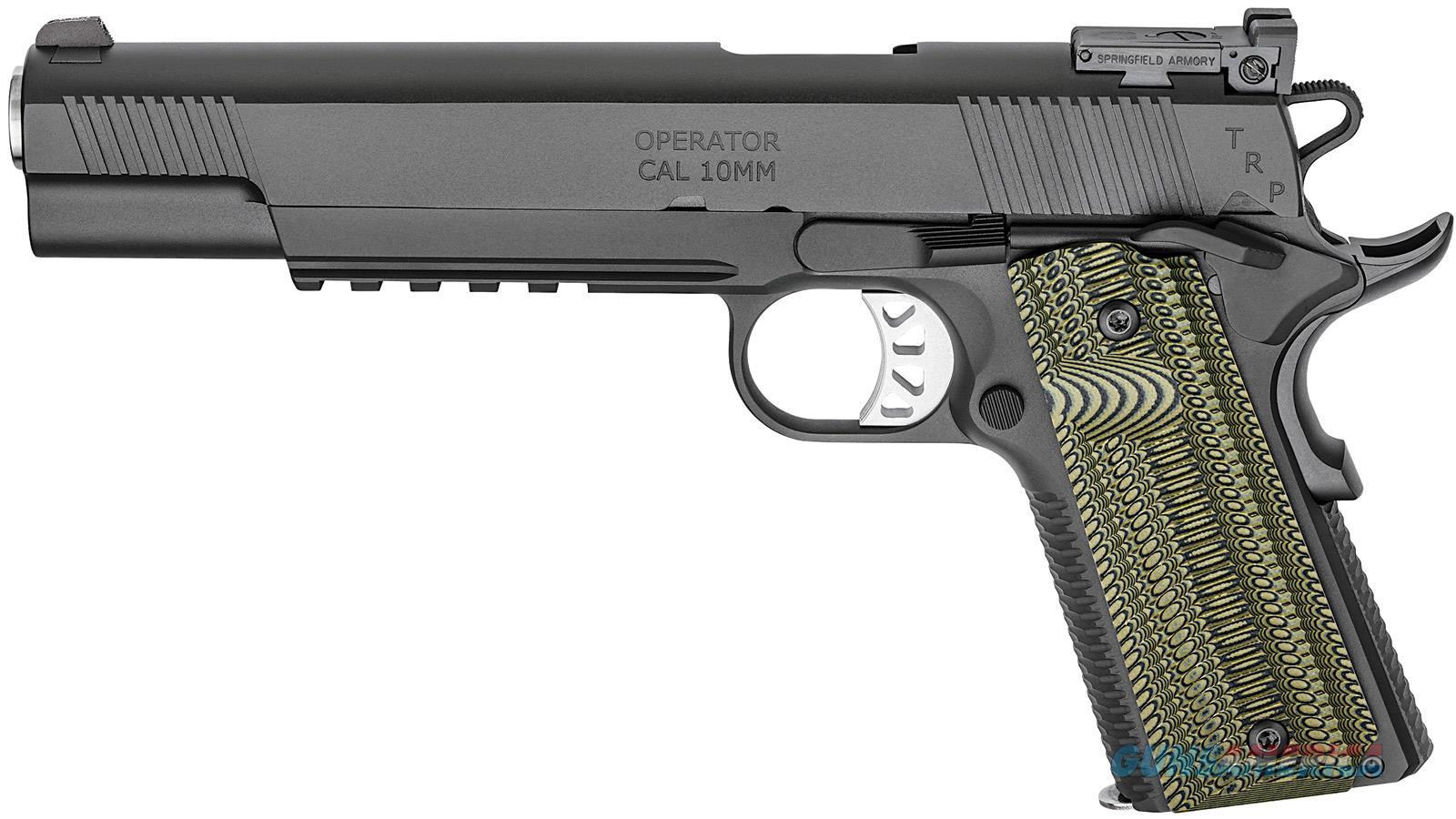 Springfield Armory Trp 10Mm Longslide Ns Tactical Response PC9610L18  Guns > Pistols > S Misc Pistols