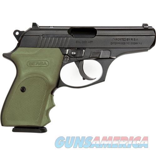 Bersa Thunder .380Acp Fs Combt Plus Matte Od Green Grip 15-Sh T380PMC  Guns > Pistols > Bersa Pistols