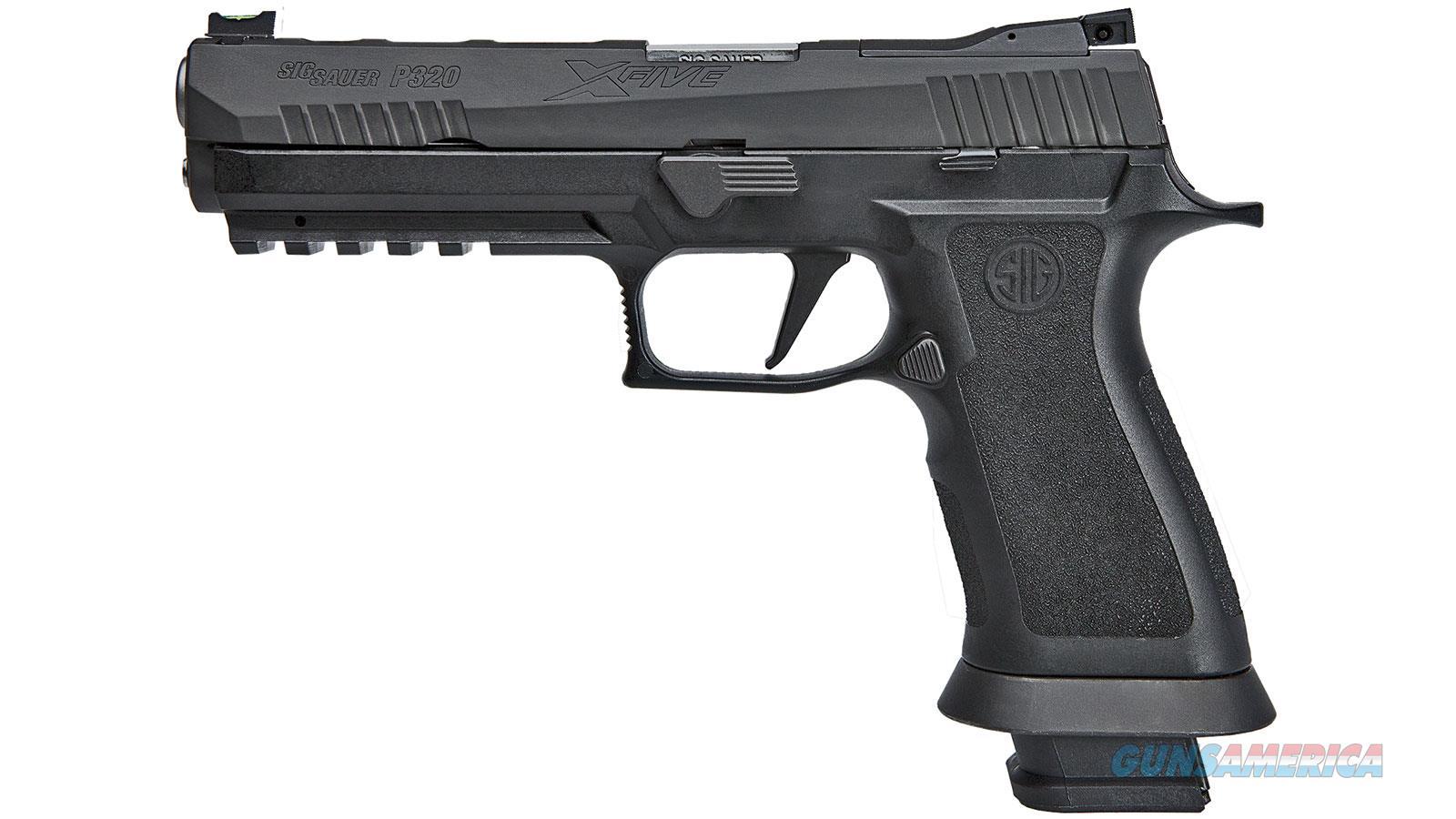 Sig Sauer P320 9Mm 5 X Series (4) 10Rd 320X5-9-BAS-10  Guns > Pistols > S Misc Pistols