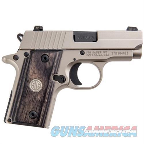 Sig Sauer P238 Hd Nickel Pvd 380 Acp 238-380-HD-NI  Guns > Pistols > S Misc Pistols